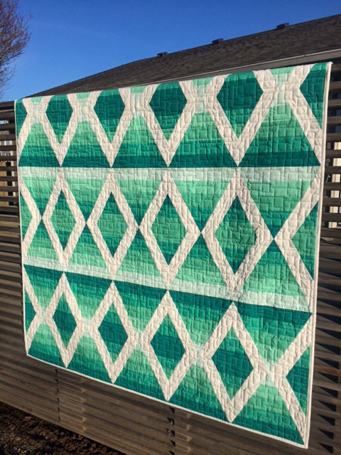 Aztec Diamond Quilt