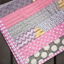 Tutorial on how to bind quilts