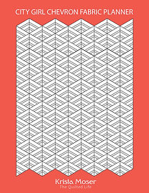 City Girl Chevron Fabric Planner.jpg