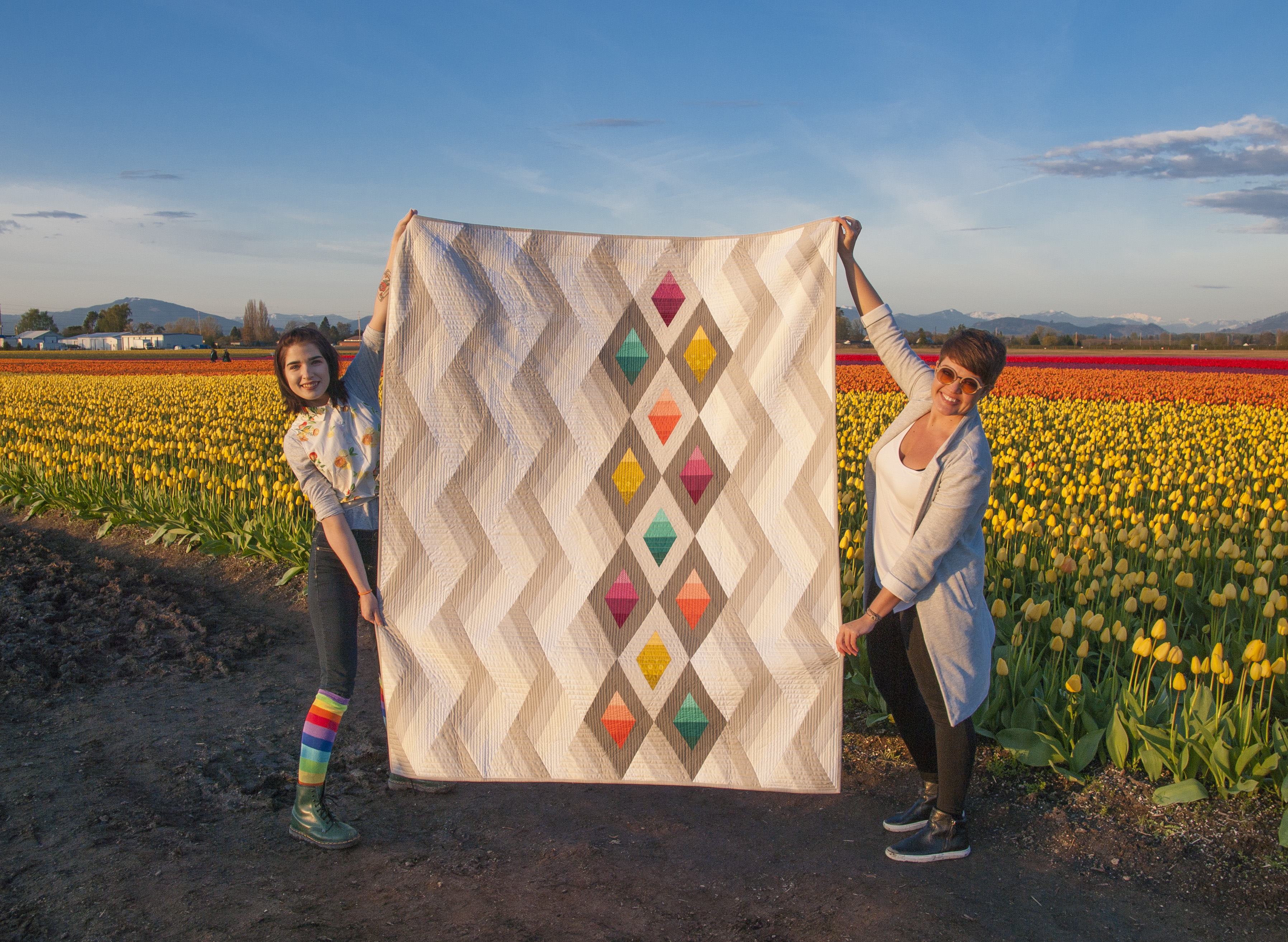 Woven Jewelbox Quilt