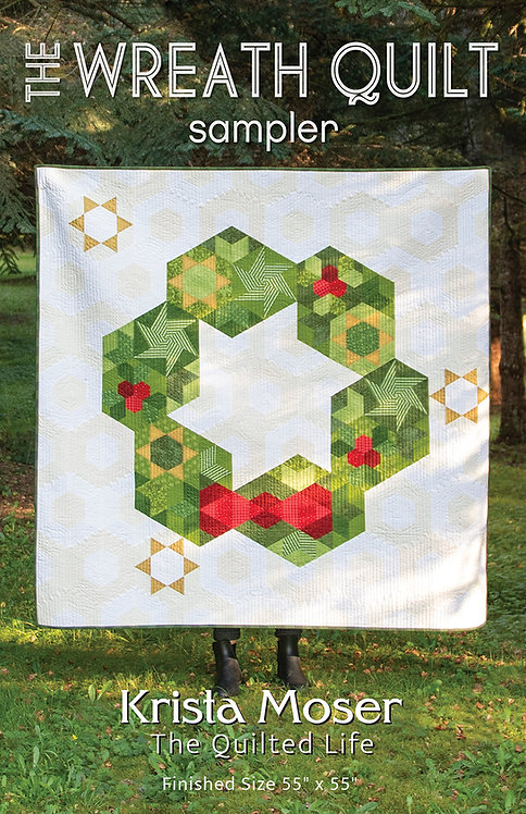 The Wreath Quilt Sampler Printed Pattern