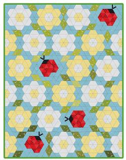 Ladybug Bloom Quilt
