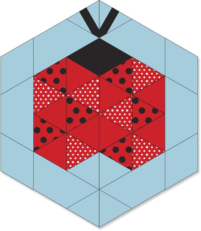 Ladybug Block