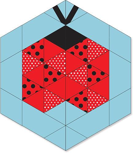 Ladybug Block: PDF ONLY