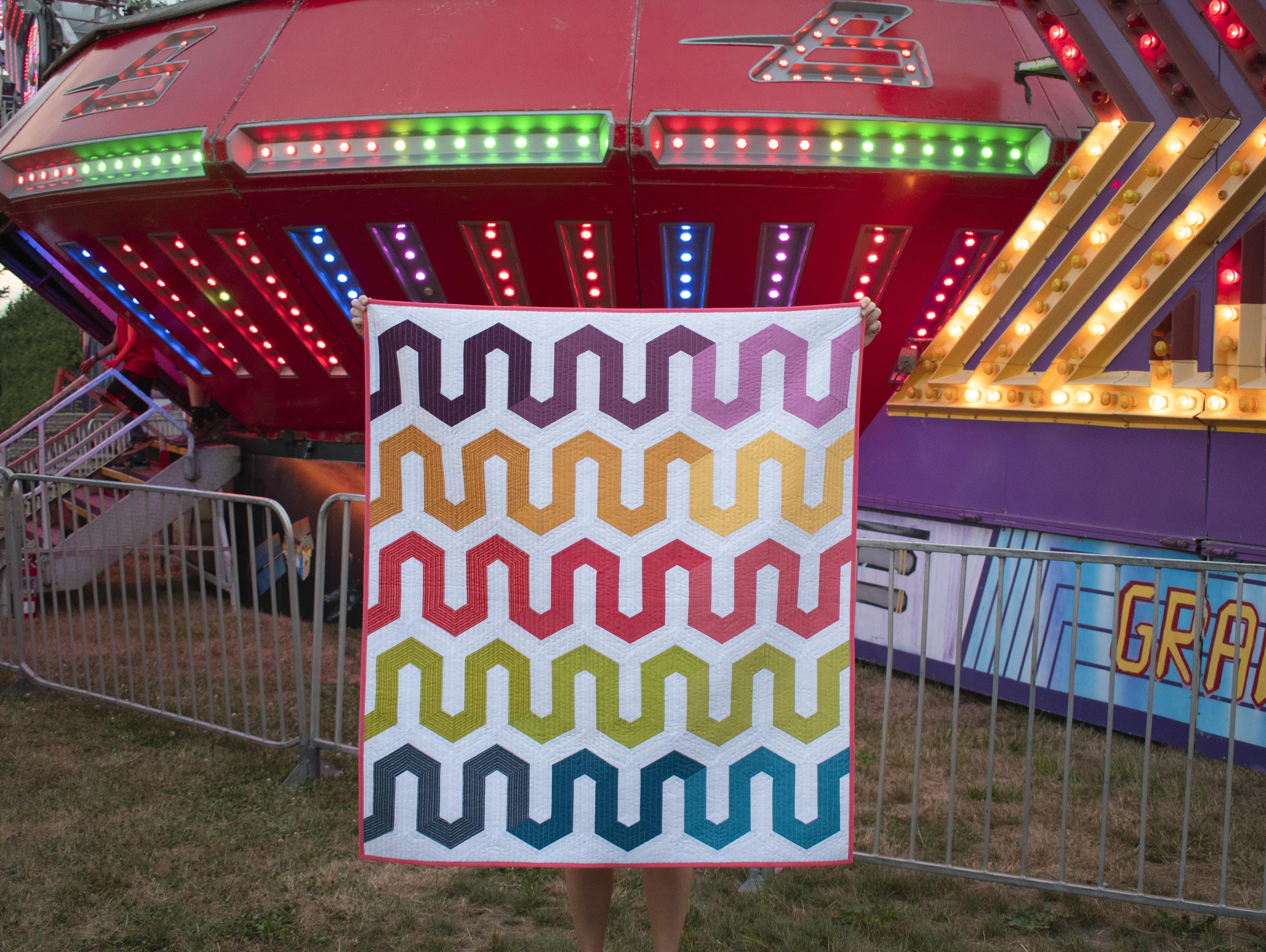 Rock'N Roller Coaster Quilt