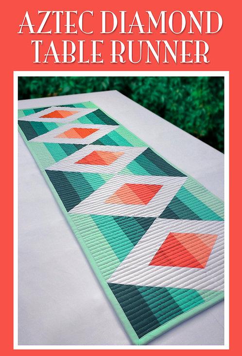 Aztec Diamond Table Runner