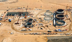 Jabel Ali Sewage Tratment Plant