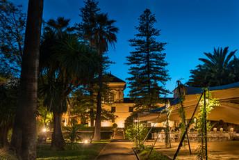 Palacio 7 Balcones de noche