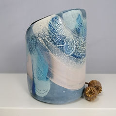 Susan Luker Ceramics Painting on clay
