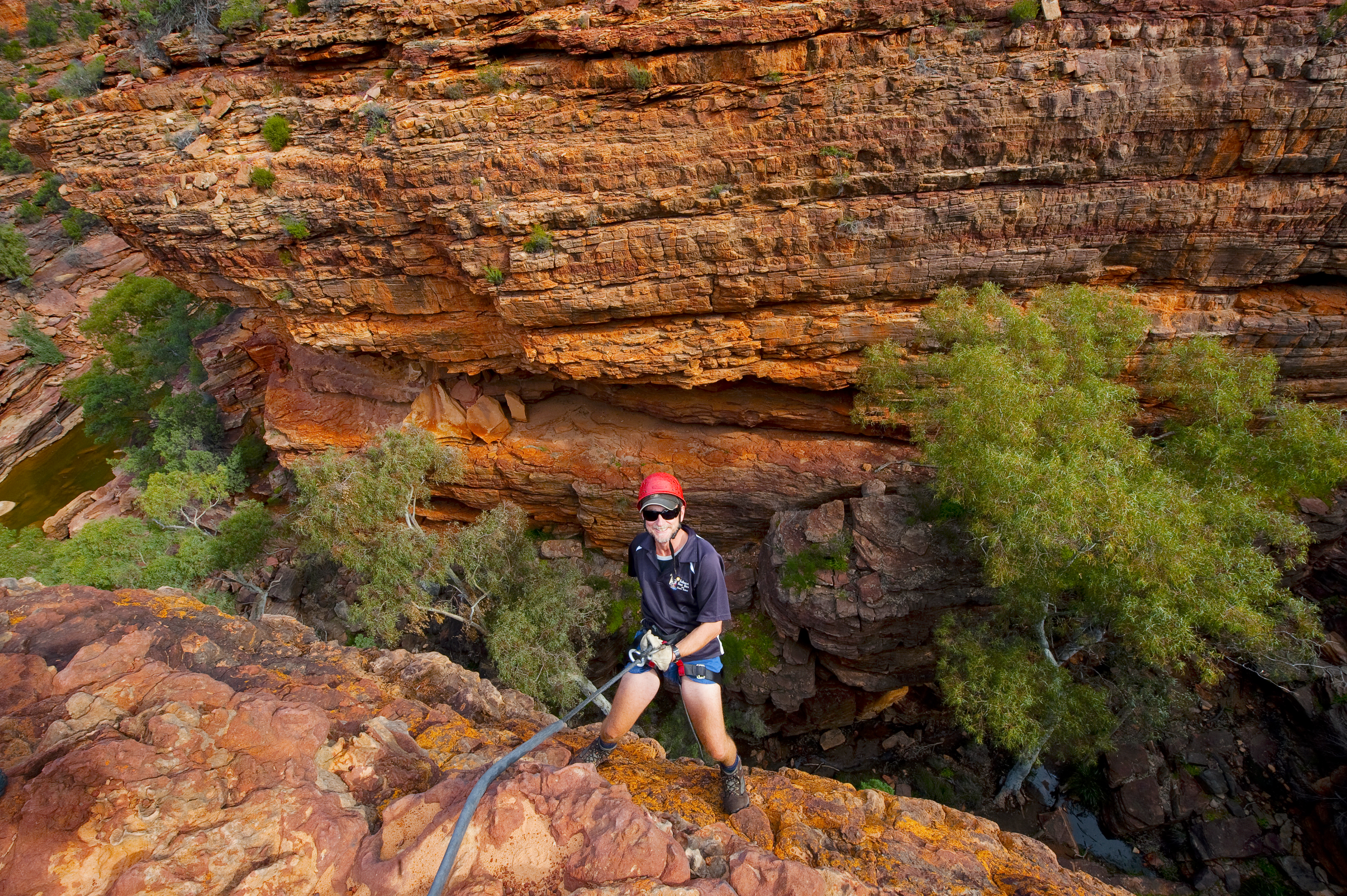 35m of fun in the Z-Bend Gorge!
