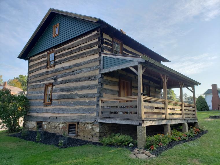Historical Society cabin in Greeock.