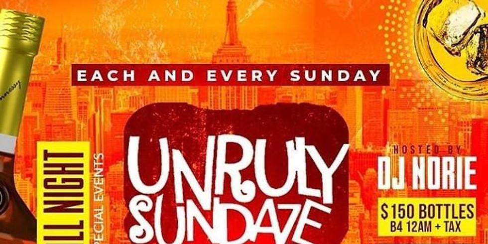 UNRULY SUNDAYZ AT BLEND LOUNGE