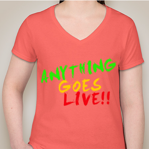 Anything Goes Live T-shirt