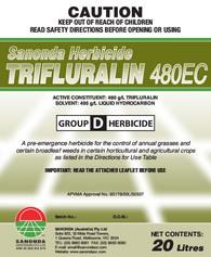 Trifluralin 480 - 20L