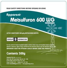 Metsulfuron 600 WG - 500g