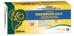 Guardian 6 in 1 (with OR without) Selenium - 500ml