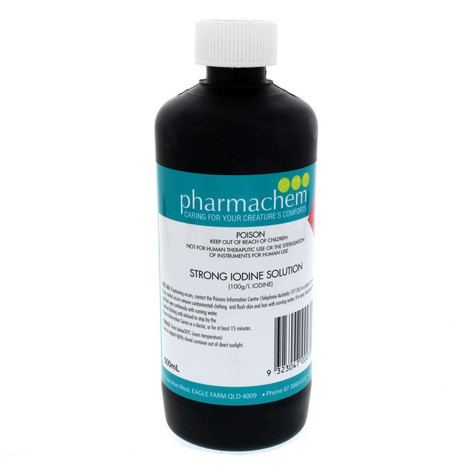 Pharmachem Strong Iodine Solution 500mL