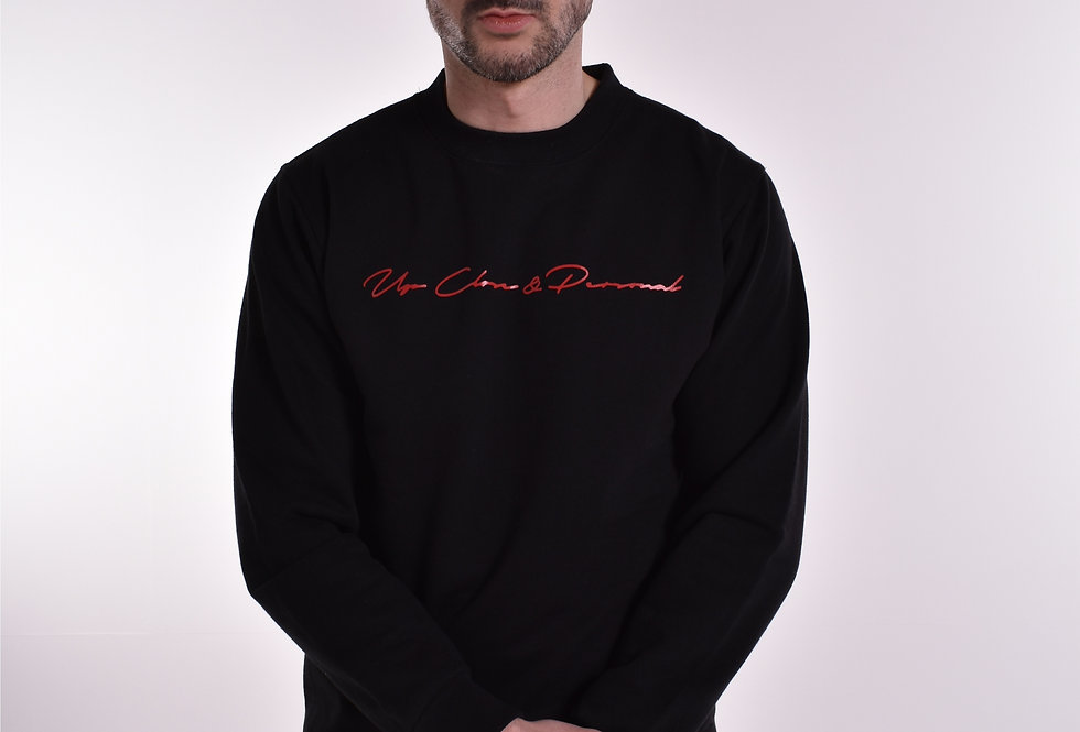 UCP Signature Sweatshirt Black