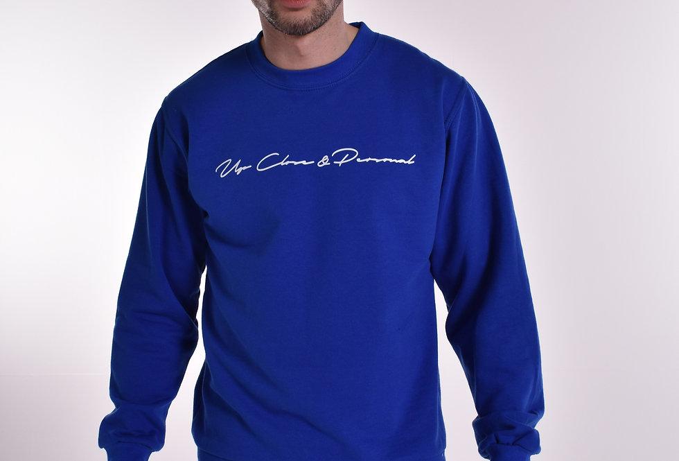 UCP Signature Sweatshirt Blue