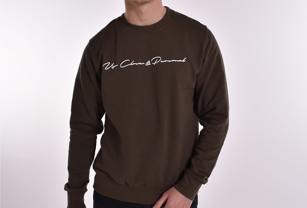 UCP Signature Sweatshirt Khaki