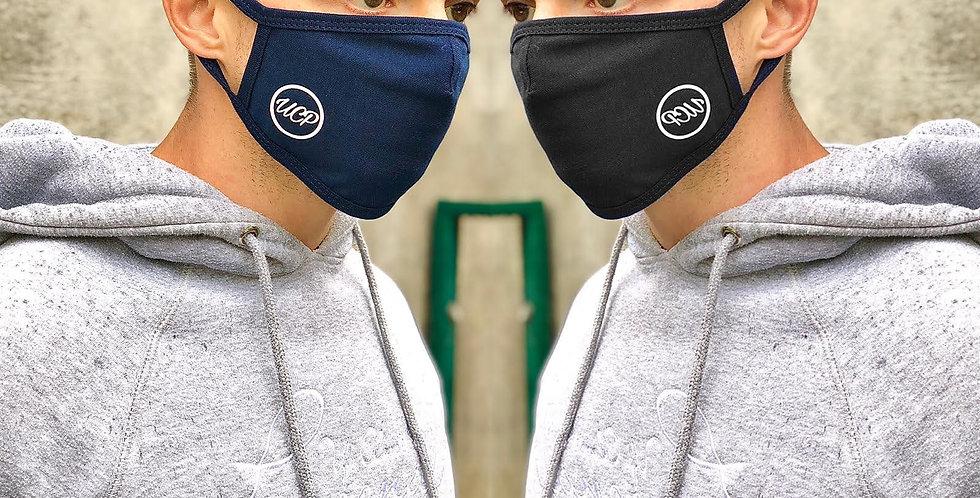 UCP Reusable Face Mask 3Pack White/Black/Navy
