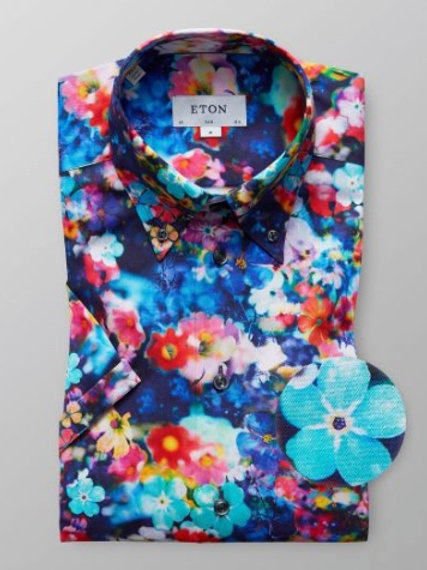 Eton Flower Shirt