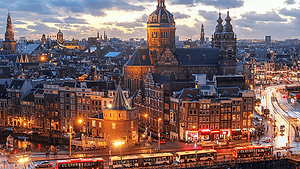 City Break Holiday - Amsterdam