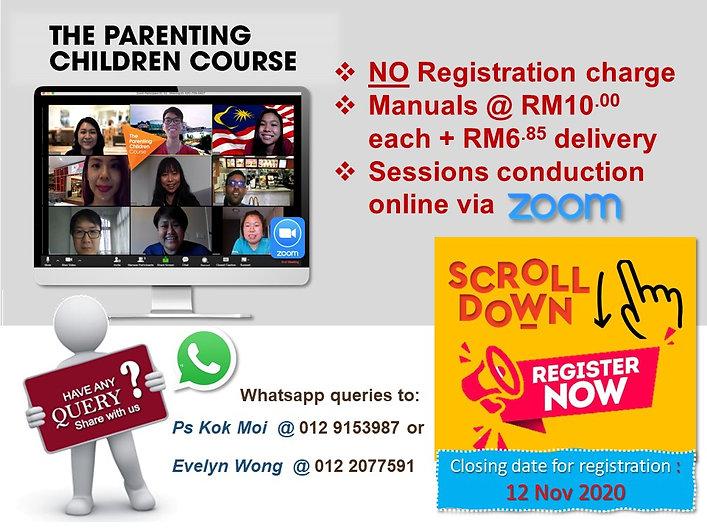 SSMC Parenting Course 18 Nov 2020 Page 2