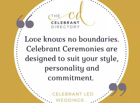 What do you charge as a Wedding Celebrant ?
