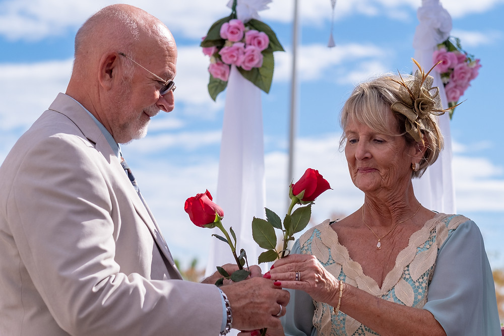 Rose Ceremony; Celebrant Spain, Wedding Celebrant Malaga