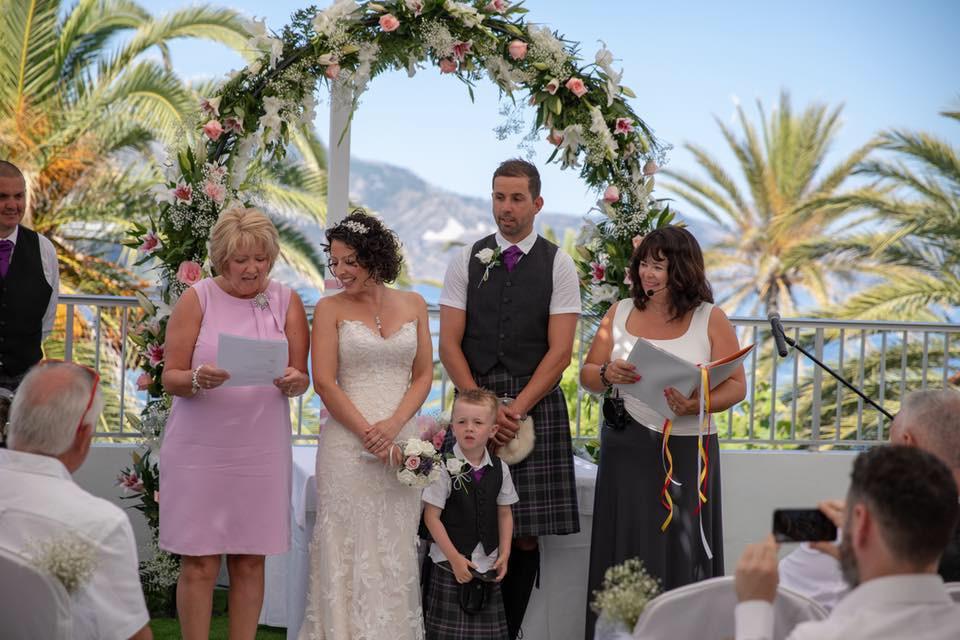 Wedding Celebrant Nerja, Balcon de Europa
