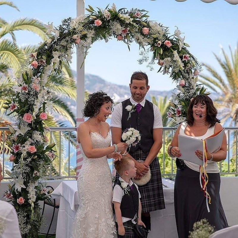 Destination Weddings, Weddings in Spain, Celebrant Spain