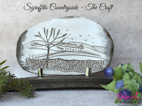 Sgraffito Ceramic Art-The Croft