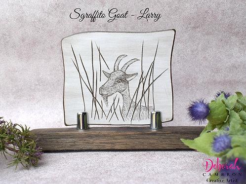 Sgraffito Ceramic Art-Larry