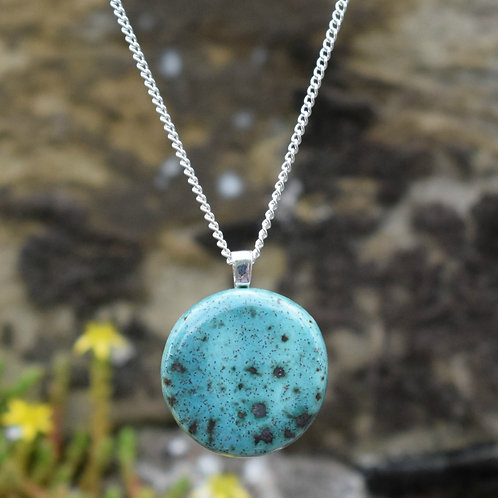 Turquoise Sky Lunar Necklace