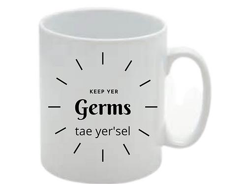 Keep Yer Germs Mug