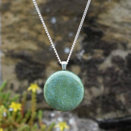 Moss Lunar Necklace