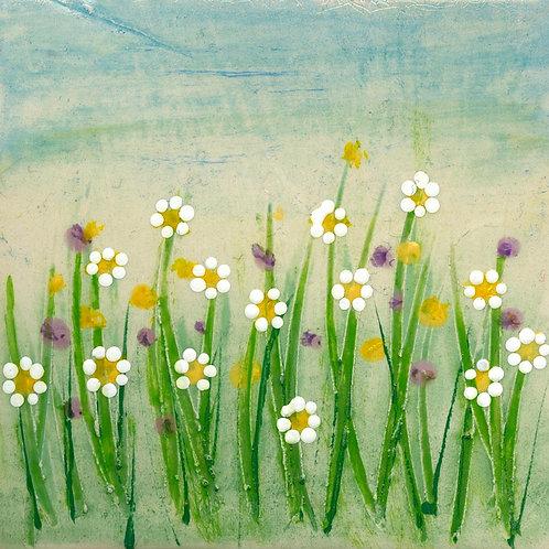 Mini Meadow Series Mounted Art Prints