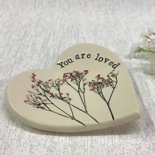 You are loved Trinket Dish