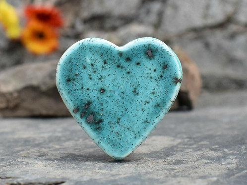 Turquoise Sky Lunar Brooch