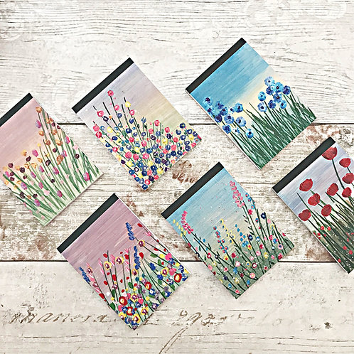 Pack of 6 Meadow Mini Note Pads