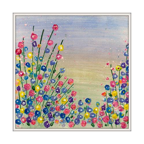 Summer blooms Mounted Art Print