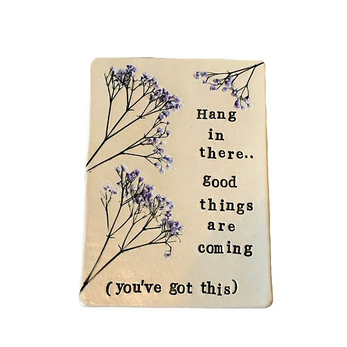 Ceramic Art Wall Plaque Tile