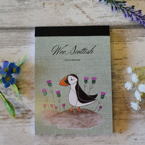 Mini Scottish Notebooks Puffin