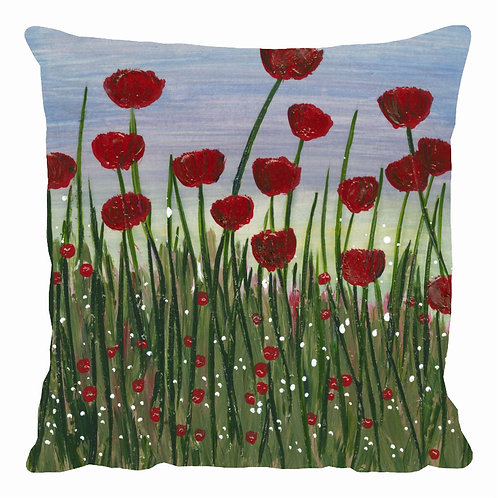 Poppy Fields Cushion