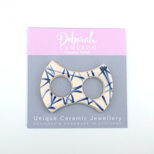 Enigma Scarf Ring Blue