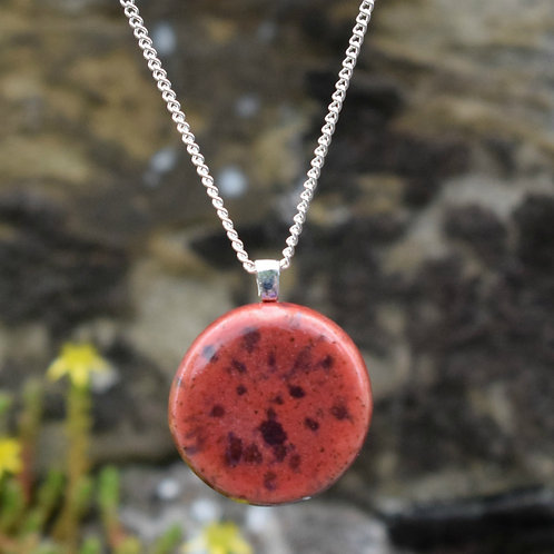 Volcanic Burst Lunar Necklace