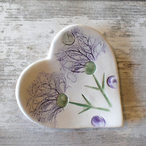 Wildflower Thistles Trinket Dish