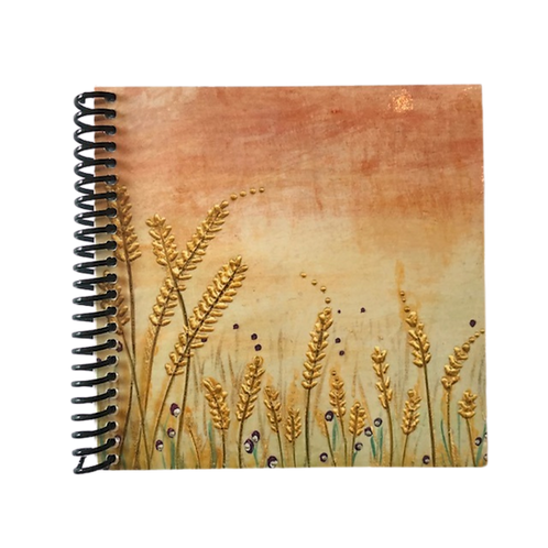 Sunset Barley Note Book