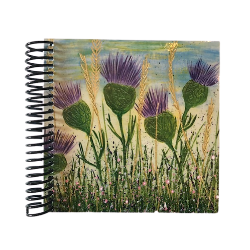 Dancing Thistles Note Book